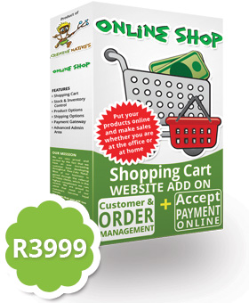 Online Shop Website Add On